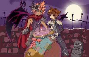 Kingdom Hearts Contest by Zocko