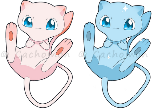 +151 - Mew+ by Cachomon