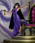 Mistress 9 And The Purity Chalice by AlanGutierrezArt