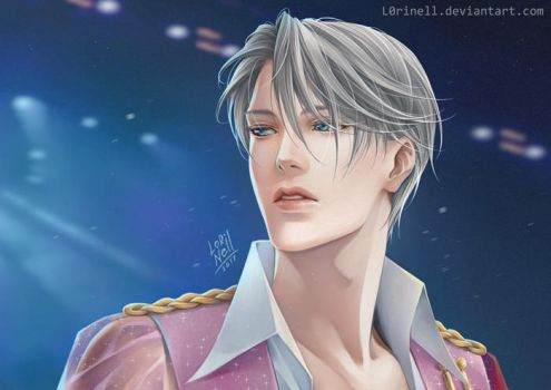 Victor Nikiforov (Yuri on Ice) by LorinellYu