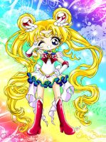 Super Sailor Moon by bloona