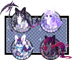 (SOLD) Kitsunet Adoptables Auction by Miizue