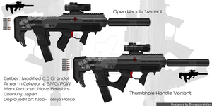 Nova Ballistics Police Issue PDW by DeRezzurektion