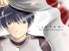 Japan -The Land of Rising Sun- by Rupyon