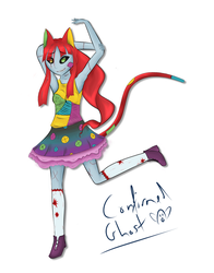 Sally Cat Sketch by ConfirmedGhost