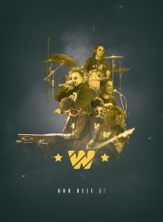 WACK - Band Poster by JuniorNeves
