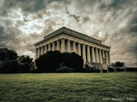 the synthetic awakening - Lincoln Memorial by thsyntheticawakening