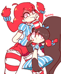 Wendy's Gaghs by Diives