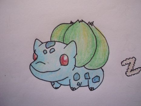 1 - Bulbasaur by Aurora-Ghost