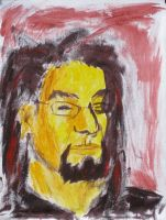 Self-Portrait - Yellow by JoeCrow9