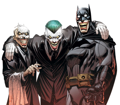 Alfred, Joker and Batman Render by Franky4FingersX2