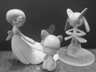 Clay - like Ralts's evolution line. by magickid1234