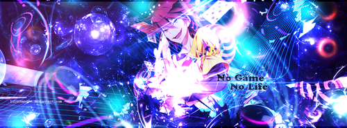 Facebook Cover - No Game No Life by luluchan696