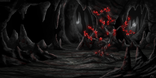 Bloodiath Room (Commission) by BluuWynter