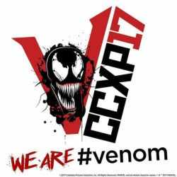 Official logo of Venom The Movie by LaxXter