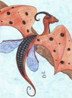 Ladybird Dragon by Scellanis