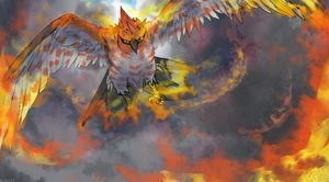 Talonflame Pokemon X Y by NinGeko