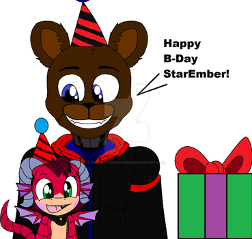 For StarEmber ((Birthday Gift)) by FreddyFazartis215