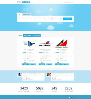 Social Airline by netpal