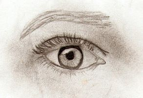 Drawing Practice-Eye by NinjaHandyMan08