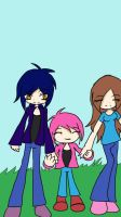 Mk and his family by cutelittlepikakitty