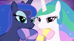 Royal Sisters Posing (2) (Wallpapers) by 90Sigma
