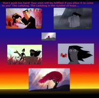 Samurai Jack - the weapon, the end and the ladybug by nad2005