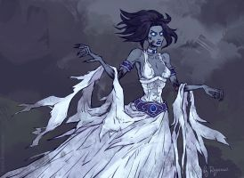 WoW: Lethice the Banshee by ryumo