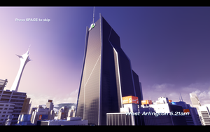 Mirrors Edge View by Dragonfanatic