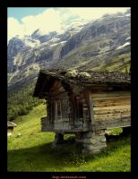 Home in  Alps by faQy