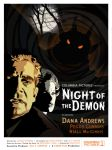 Night of the Demon Poster Final by McJade