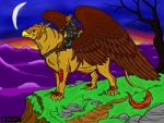 Griffon Rider - colored by girliearist