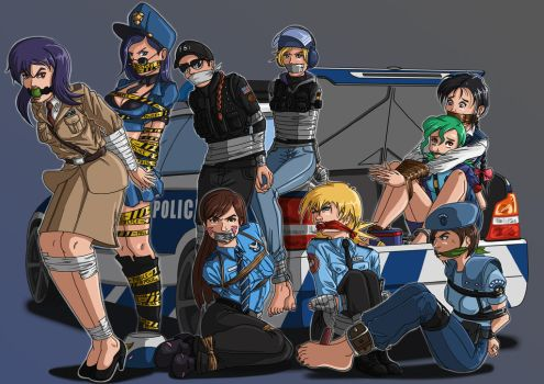 Draw-with-me: Police 8  (LAST) by McBound