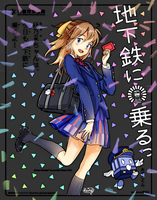 Honoka's Training by rainbownote