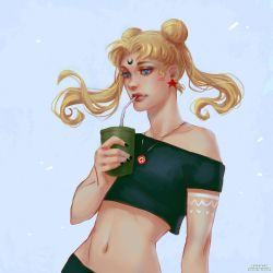 Bored Usagi by Leventart