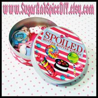 Spoiled Rotten Jewelry Tin by wickedland