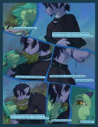 Asteria Six: Page 6. A World Standing Still. by The-SixthLeafClover