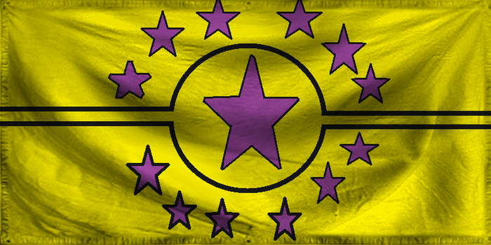 Libertarian flag by ZhaneAugustine