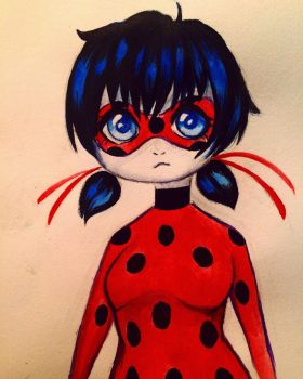 Quick drawing of ladybug  by theinsanegirl16