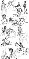 'Nuther Sketchdump by Yubria