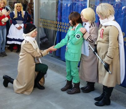second day at Sac-Hetalia meetup-RusLiet by ArthurJones93