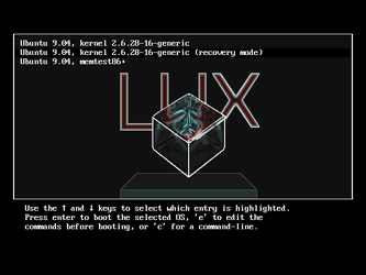 LUX-grub bootloader theme by szerencsefia