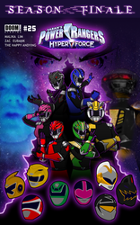 Power Rangers HyperForce - Season Finale Cover by TheHappyAndying