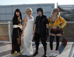 Final Fantasy XV Cosplayers by Maspez