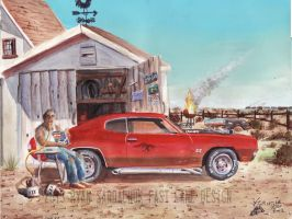 The Life Story Of A 1970 Chevy Chevelle (Part 11) by FastLaneIllustration
