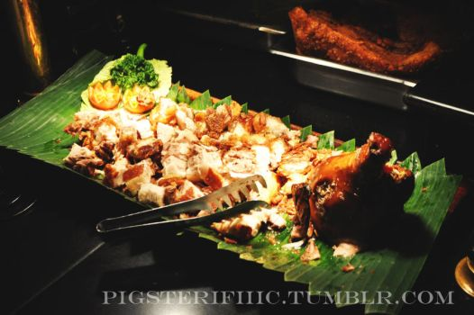 Lechon Baboy (Roasted Pig) 2 by pauchie
