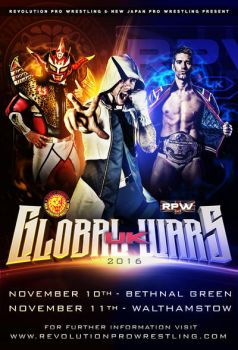 RPW Global Wars UK 2016 official flyer by THE-MFSTER-DESIGNS