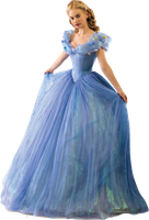 Lily James as Cinderella-Full Body 2 PNG by nickelbackloverxoxox