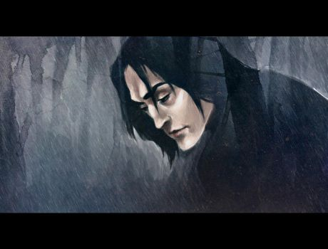 severussnape by andrahilde