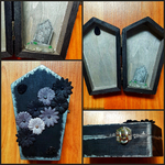 Forbidden Garden Coffin Box by CrimsonsCreations